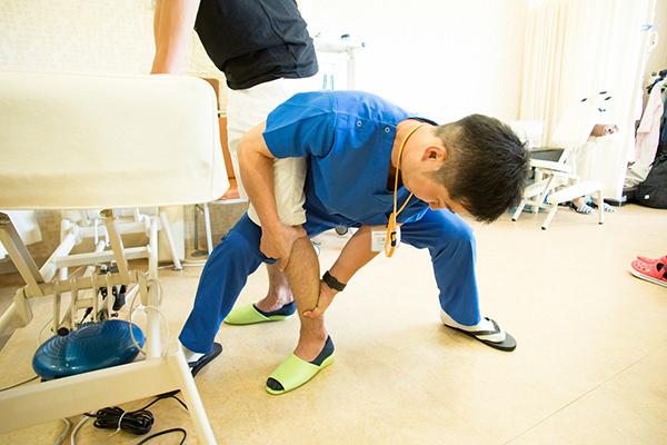 慢性痛にも即効手技で早期回復